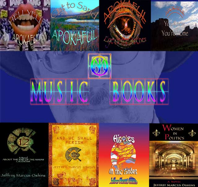 Jeffrey Marcus Oshins Music and Books